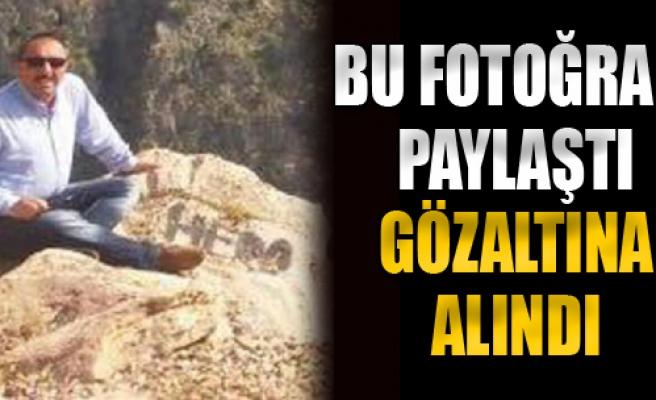 'Hero' Yazılı Fotoğraf Paylaşan Milli Eğitim Müdürü'ne FETÖ Gözaltısı