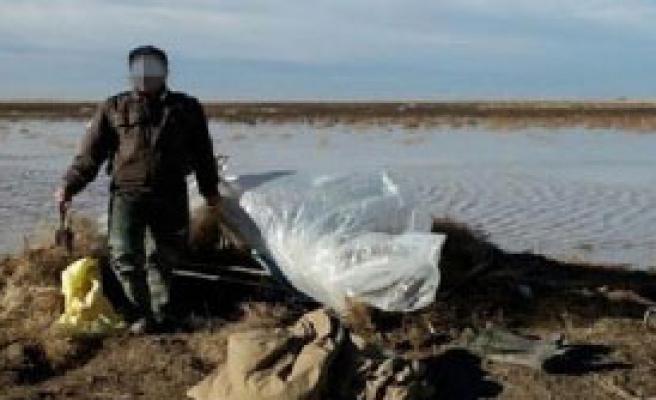 Tuz Gölü'nde Kaçak Ava Suçüstü