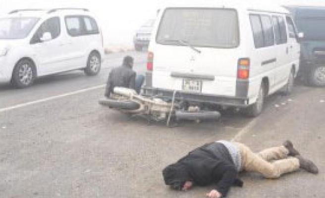 20 Araç Birbirine Girdi: 7 Yaralı