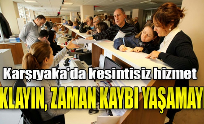 Karşıyaka, E-Devlet Uygulamasında