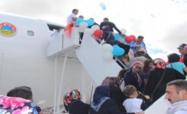 Çankırı'da Uçak Kütüphane Hizmete Girdi