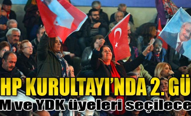 CHP'de PM ve YDK Üyeleri Seçilecek