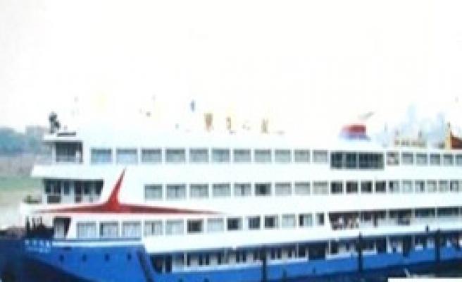 Çin'de Gemi Faciası