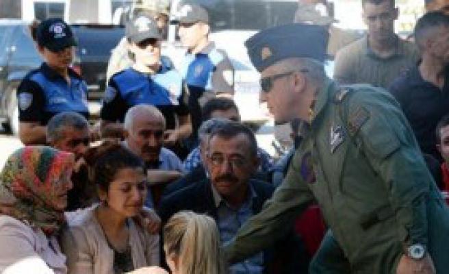 Şehit Olan Polise Uğurlama Töreni