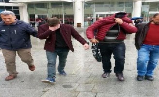 Çelik Kasa Hırsızları Tutuklandı