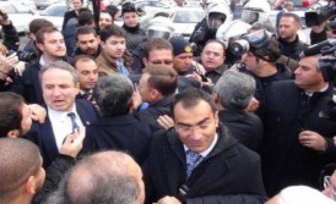 CHP'li Gençlere Polis Müdahalesi