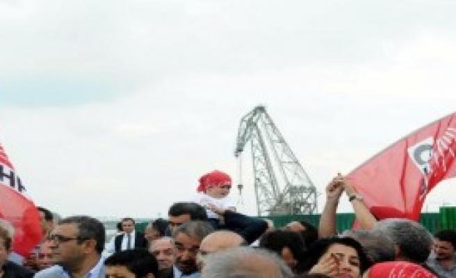 CHP'den Ataköy'de Protesto