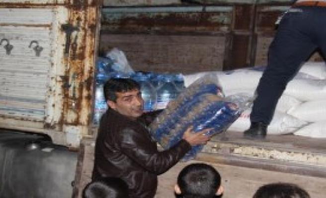 CHP'den Silvan'a Gıda Yardımı