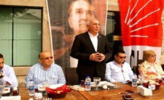CHP'li Aldan'dan 1 Kasım Değerlendirmesi