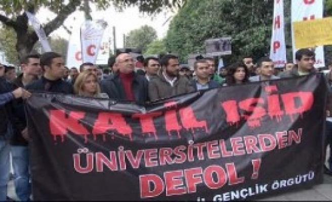 CHP'li Gençler IŞİD'i Protesto Etti