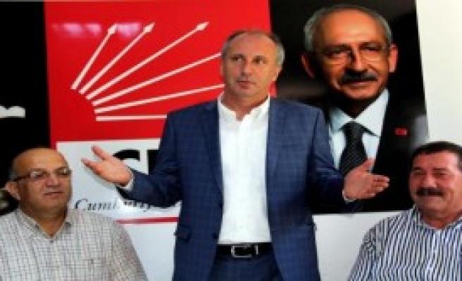 İnce'den Hükümet ve Erdoğan'a Eleştiri