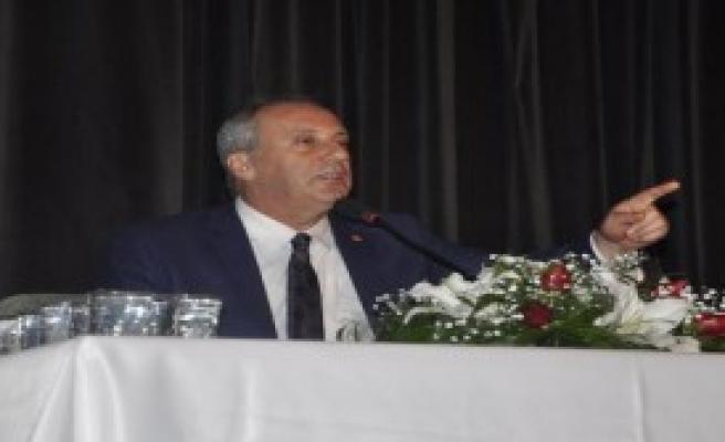 CHP'li İnce'den Yeni Anayasa Eleştirisi