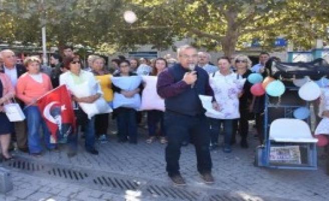 CHP'lilerden 'MTV Zammı' Protestosu