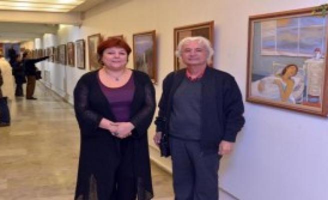 Çiçek Bozkuş'un Eserleri Resim Heykel'de