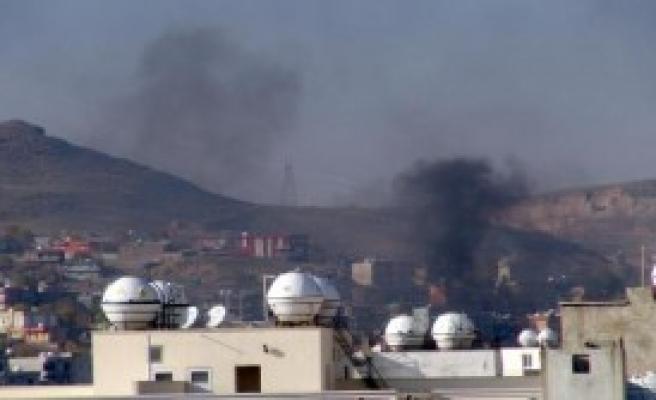 Cizre'de Çatışmalar Gece Boyu Sürdü