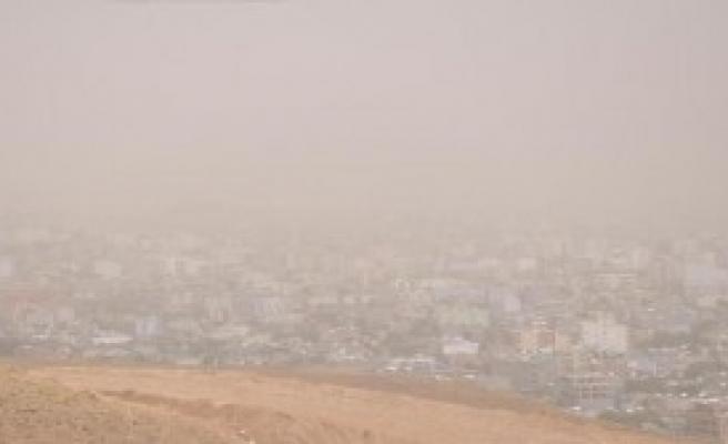 Cizre'de Kum Fırtınası