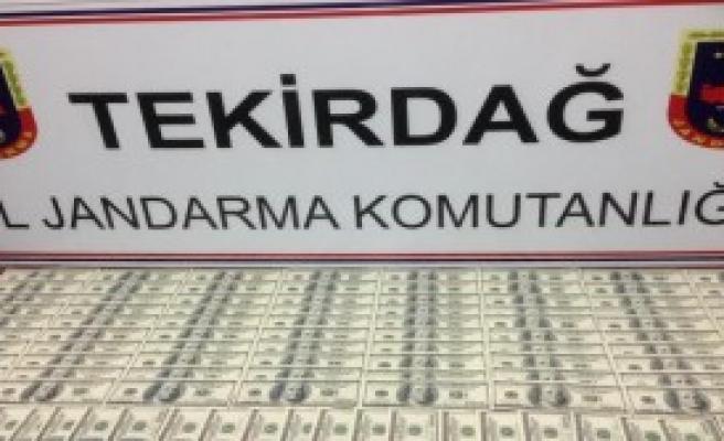 Çorlu'da Sahte 10 Bin Dolar Ele Geçti