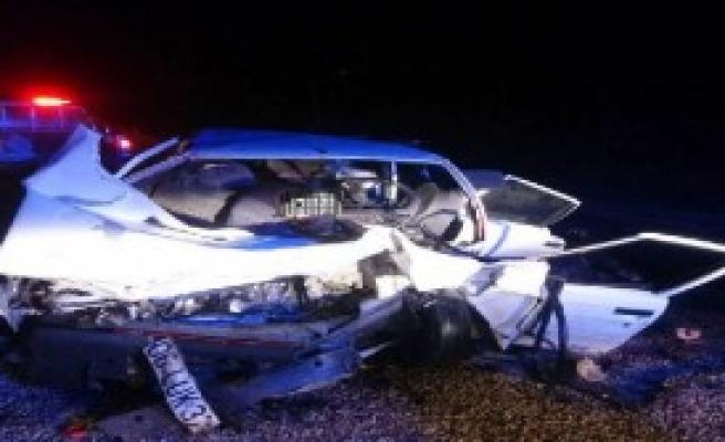 Çorum'da Kaza : 3 Ölü, 1 Yaralı