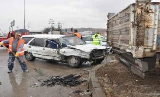 Çorum'da Kaza: 4 Yaralı