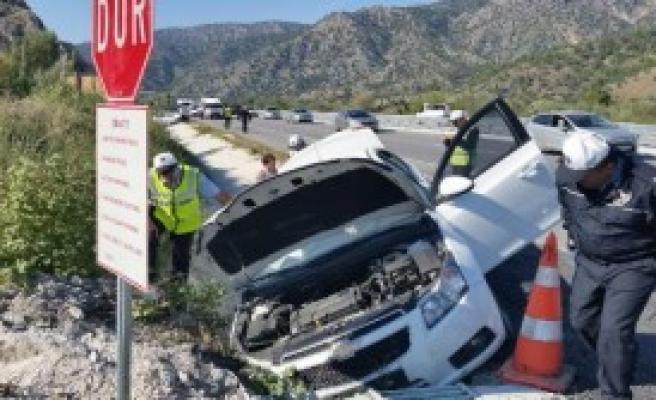 Çorum'da Trafik Kazası: 8 Yaralı