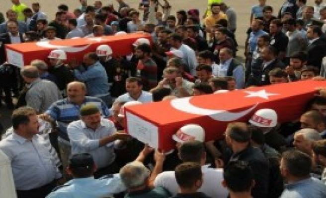 Şehit Cenazeleri Tokat'a Getirildi