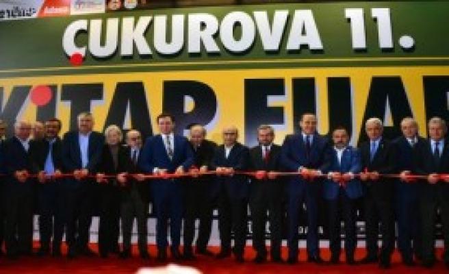 Çukurova 11'inci Kitap Fuarı Açıldı