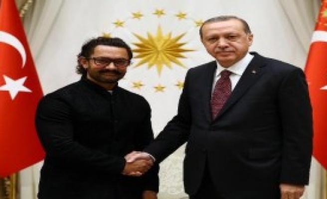 Erdoğan Aamir Khan'ı Kabul Etti