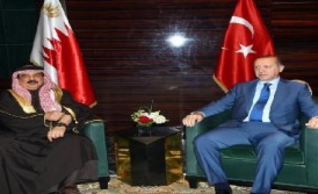 Erdoğan, Bahreyn Kralı'yla Görüştü