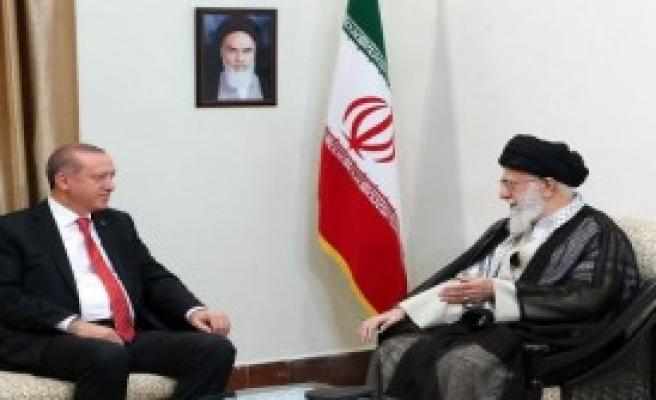 Erdoğan, İran Lideri Hamaney İle Görüştü