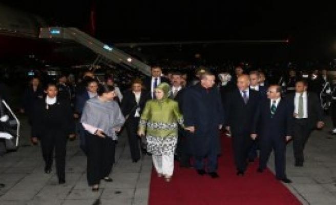 Cumhurbaşkanı Erdoğan Meksika'da