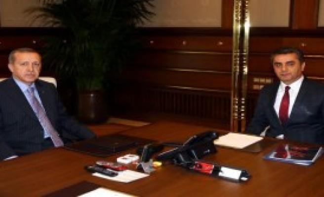 Erdoğan, Göka'yı Kabul Etti