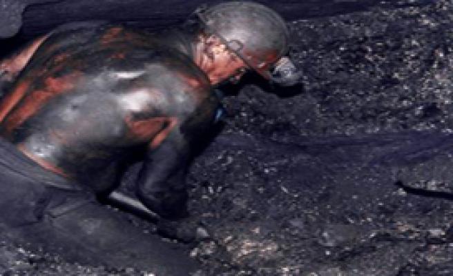 Maden İşçileri Eylem Yaptı