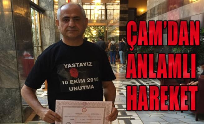 İzmirli Vekil Ankara'daki Katliamı Unutmadı
