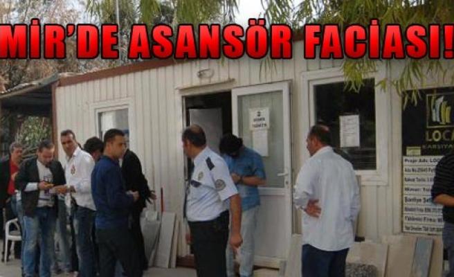 İnşaat Asansörü Düştü, 4 İşçi Yaralı