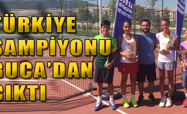 Türkiye Şampiyonu Buca'dan Çıktı