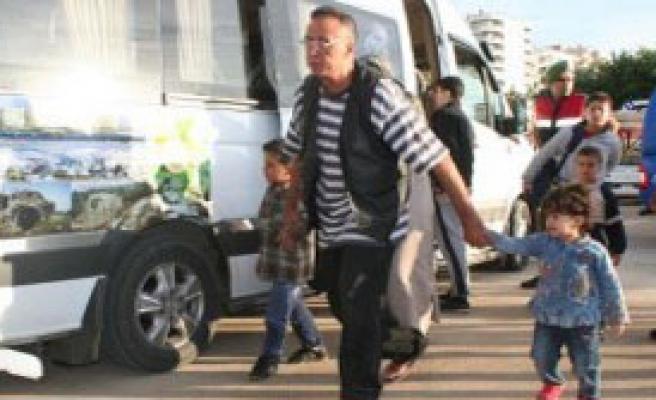 Erdemli'de Teknede 200 Suriyeli Yakalandı