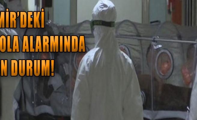 Ebola Alarmında Son Durum