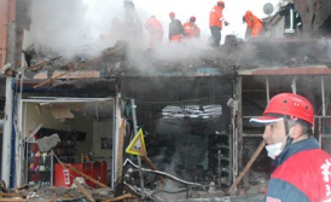 Eskişehir'de Patlama 4 Ölü