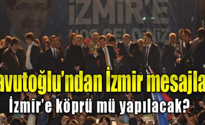Başbakan Davutoğlu Partililerle Buluştu