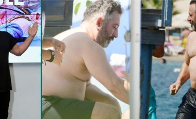 Cem Yılmaz kilolarını bakın nasıl verdi!