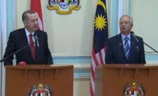 Erdoğan Malezyalı Mevkidaşıyla Görüştü
