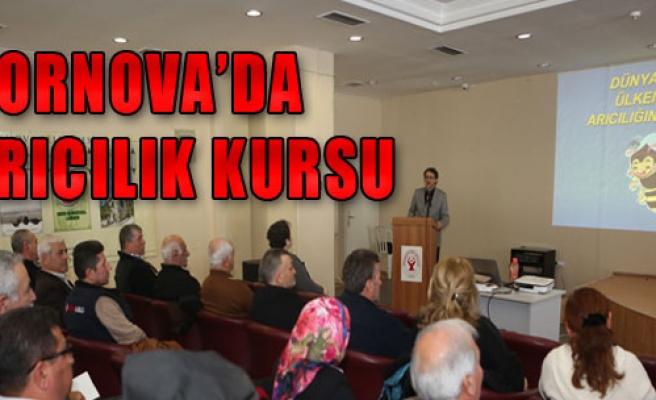 Bornova'da Arıcılık Kursu Başladı