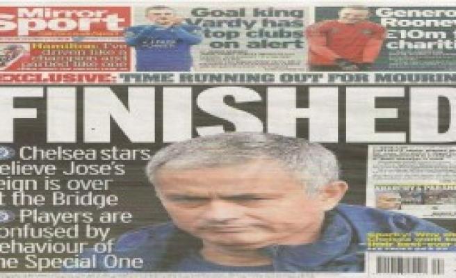 Daily Mirror: Mourinho Bitti
