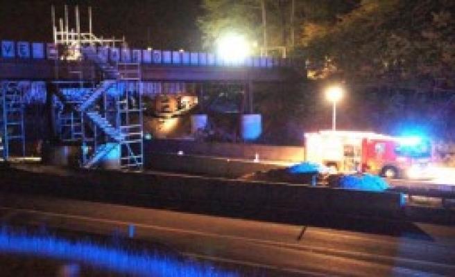 Danimarka'da Köprü Çöktü