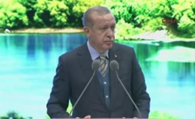 Erdoğan Şehircilik Şurası'nda Konuştu