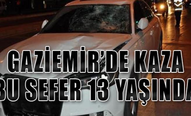 Gaziemir'de Trafik Kazası