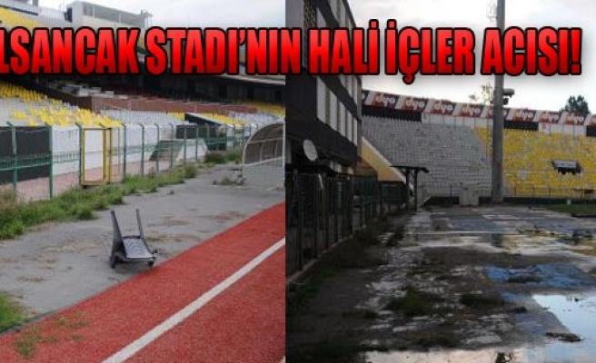 Alsancak Stadı'nın Hali İçler Acısı