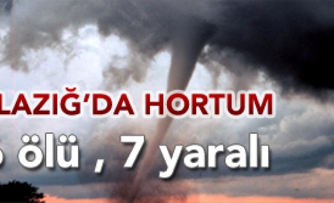 Elazığ'da Hortum