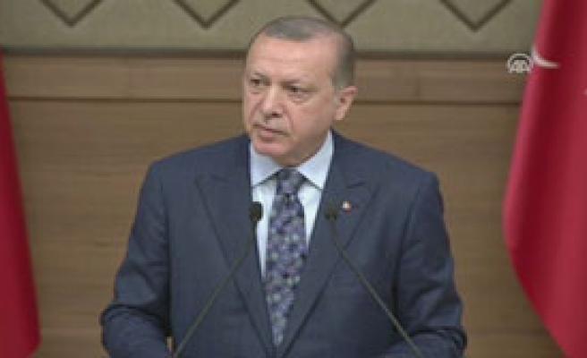 Erdoğan:'Bu Hale Düşmemeliydik'