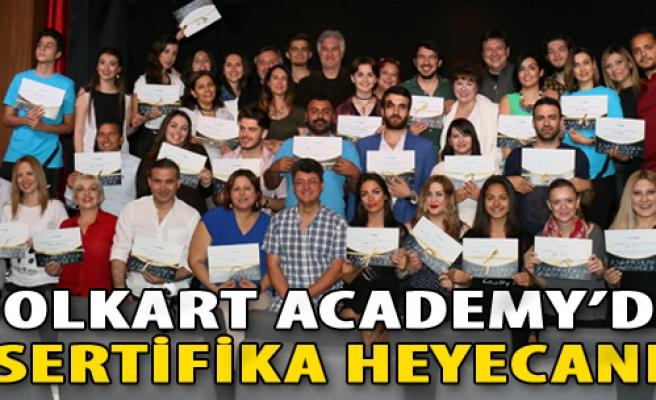 Folkart Academy'de Sertifika Heyecanı